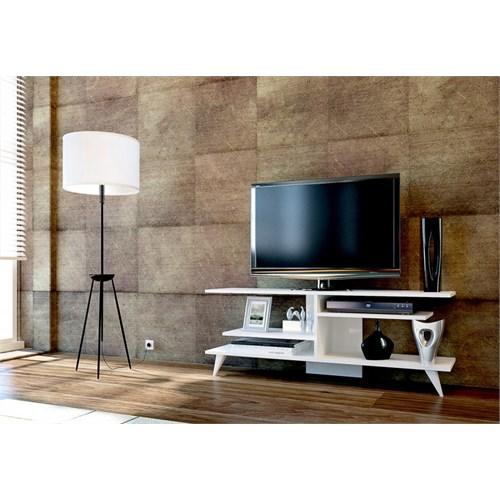 Sanal Mobilya Fever Tv Sehpası-Beyaz