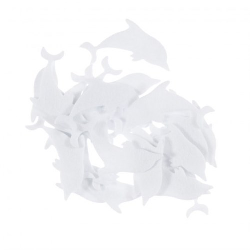 La Mia 25'Li Beyaz Yunus Keçe Motifler Fs290-M02