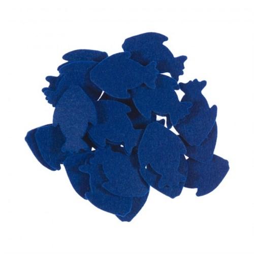 La Mia 25'Li Saks Mavi Balık Keçe Motifler Fs291-M47