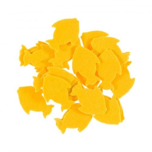 La Mia 25'Li Sarı Balık Keçe Motifler Fs291-M09