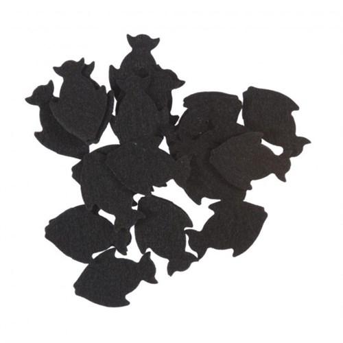 La Mia 25'Li Siyah Balık Keçe Motifler Fs291-M01