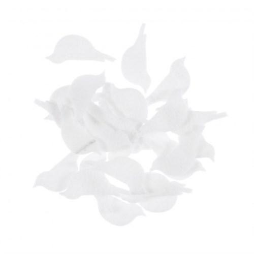 La Mia 25'Li Beyaz Kuş Keçe Motifler M02