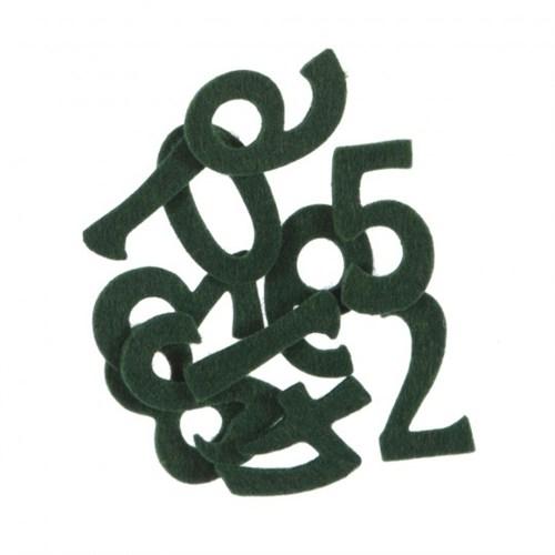 La Mia 10'Lu Yeşil Sayı Keçe Motifler M58