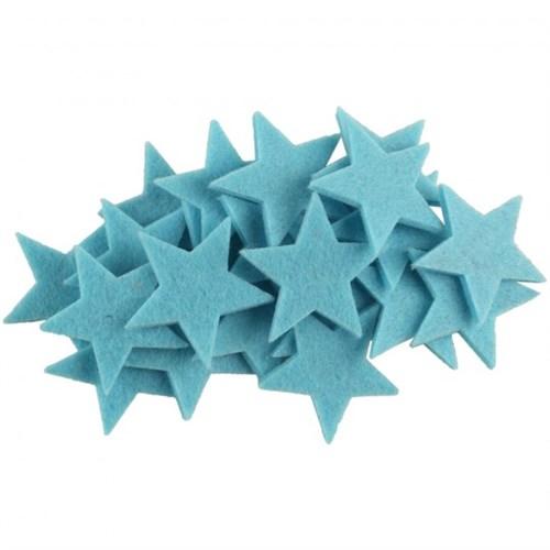 La Mia 25'Li Cam Göbeği Yıldız Keçe Motifler - Fs304-M40