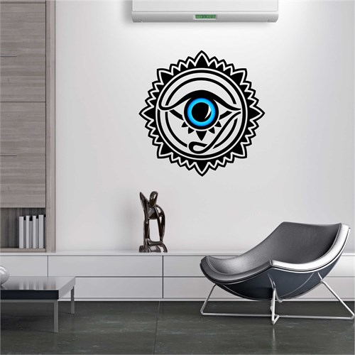 I Love My Wall Modern (Mdn-091)Sticker(Baykuş Sticker Hediye!)