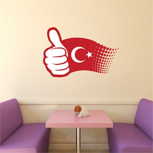 I Love My Wall Modern (Mdn-103)Sticker(Baykuş Sticker Hediye!)