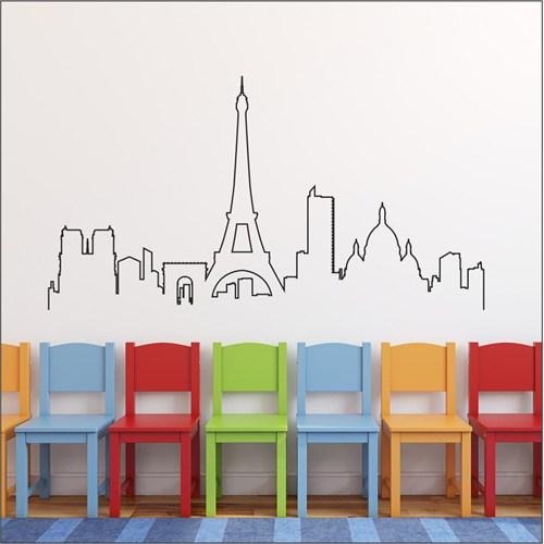 I Love My Wall Şehirler (Shr-209)Sticker(Baykuş Sticker Hediye!)