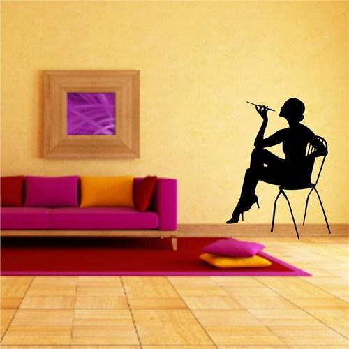 I Love My Wall Modern (Mdn-088)Sticker(Baykuş Sticker Hediye!)