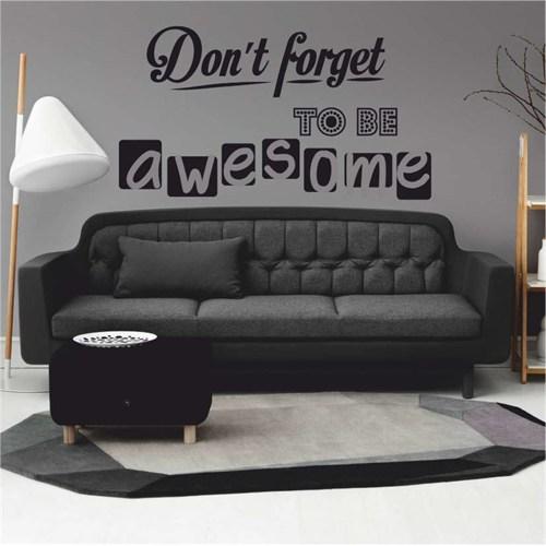 I Love My Wall Konuşan Duvarlar (Kd-136)Sticker(Baykuş Sticker Hediye!)