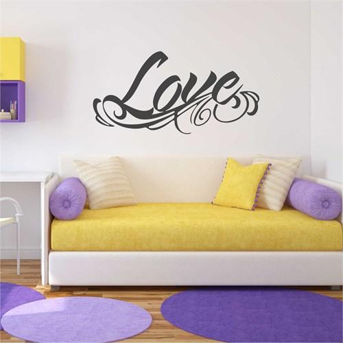 I Love My Wall Konuşan Duvarlar (Kd-035)Sticker(Baykuş Sticker Hediye!)
