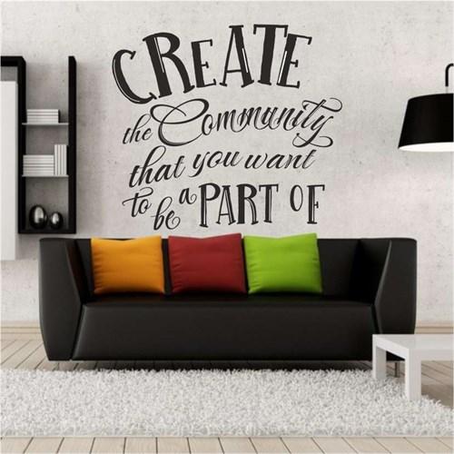 I Love My Wall Konuşan Duvarlar (Kd-137)Sticker(Baykuş Sticker Hediye!)