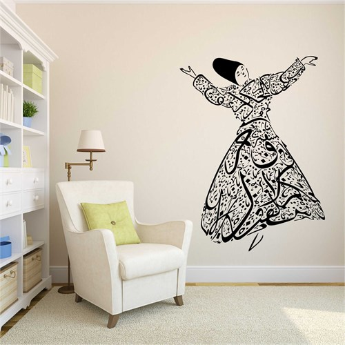 I Love My Wall Dini (D-028)Sticker(Baykuş Sticker Hediye!)
