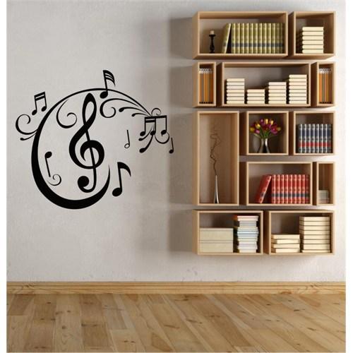 I Love My Wall Müzikal (M-048)Sticker(Baykuş Sticker Hediye!)