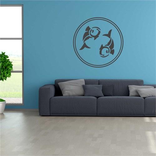 I Love My Wall Balıksticker(Baykuş Sticker Hediye!)
