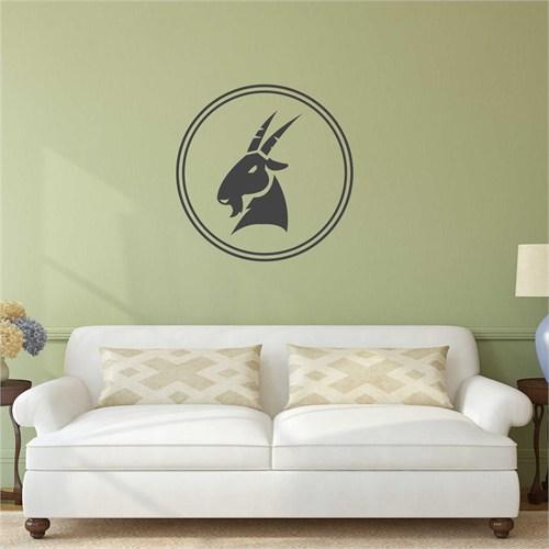 I Love My Wall Oğlaksticker(Baykuş Sticker Hediye!)