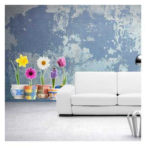 Artikel Flowers Dev Duvar Sticker Dp-1451