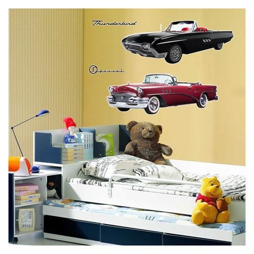 Artikel Classic Cars-2 Dev Duvar Sticker Dp-1462