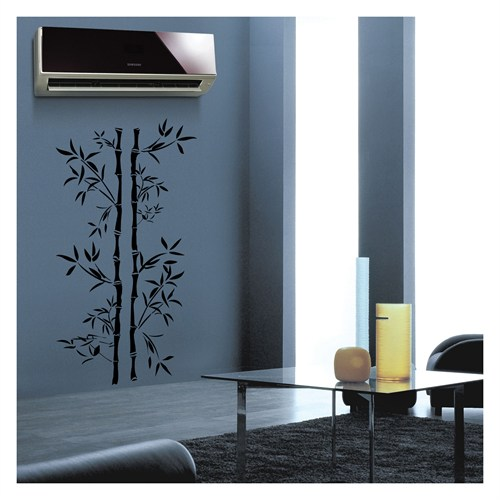 Artikel Bambus Kadife Duvar Sticker Dp-326 ve Tuz boyama