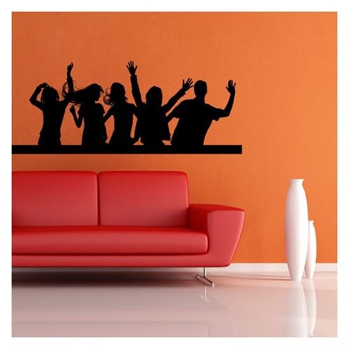 Artikel Dance Kadife Duvar Sticker Dp-051 ve Tuz boyama