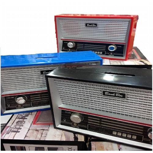 Gift Box Kumbara Radyo Şeklinde