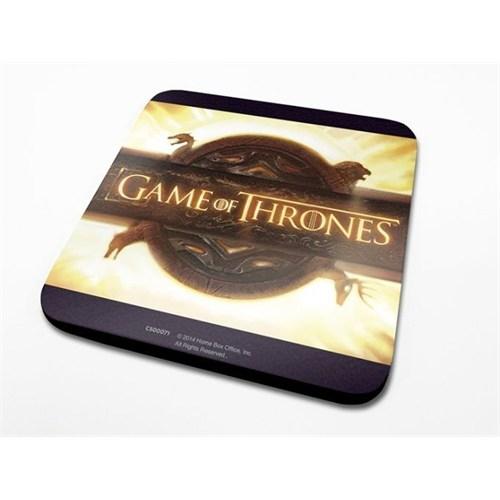 Pyramid International Bardak Altlığı - Game Of Thrones Opening Logo