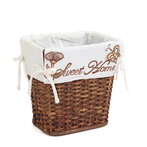 Kancaev Hasır Sweet Home Çöp Sepeti