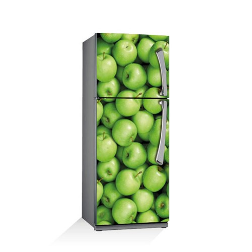 Artikel Elma Krom Buzdolabı Stickerı Bs-002
