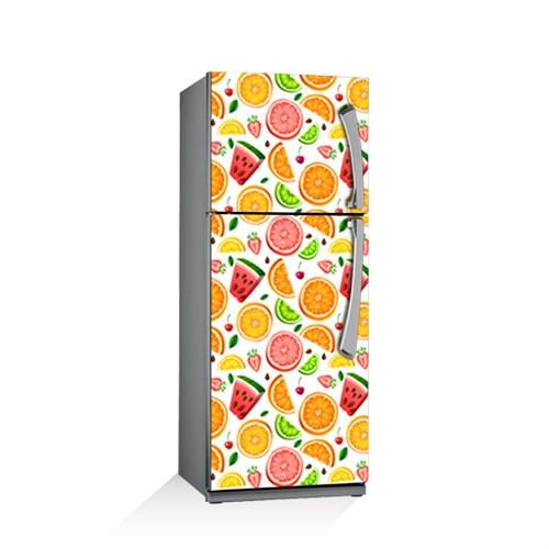 Artikel Meyveler Buzdolabı Stickerı Bs-019