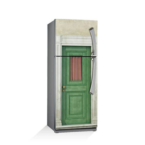Artikel Otantik Kapı Buzdolabı Stickerı Bs-034
