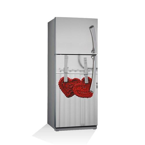Artikel Şirin Kalpler Buzdolabı Stickerı Bs-035