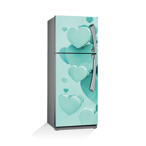 Artikel Buzdan Kalp Buzdolabı Stickerı Bs-042