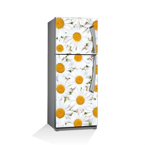 Artikel Sarı Çiçekler Buzdolabı Stickerı Bs-045
