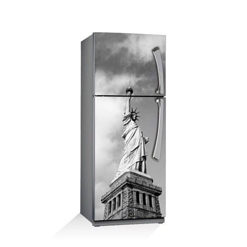 Artikel Özgürlük Heykeli Buzdolabı Stickerı Bs-047