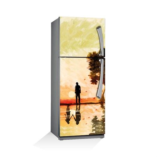 Artikel Sonsuz Aşk Buzdolabı Stickerı Bs-051