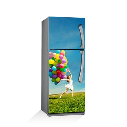Artikel Renkli Balonlar Buzdolabı Stickerı Bs-083