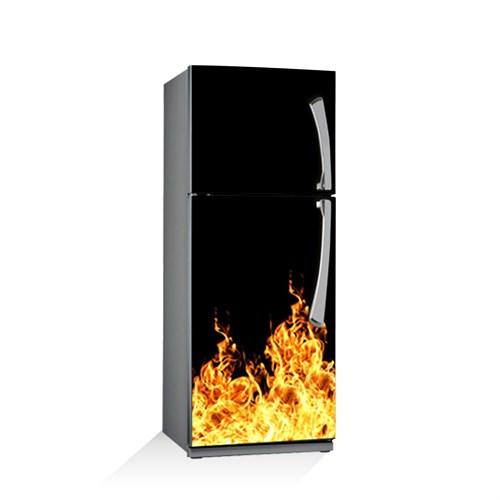 Artikel Alevler Buzdolabı Stickerı Bs-124