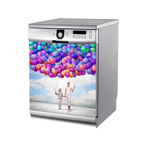 Artikel Renkli Balonlar Bulaşık Makinası Stickerı Bs-153