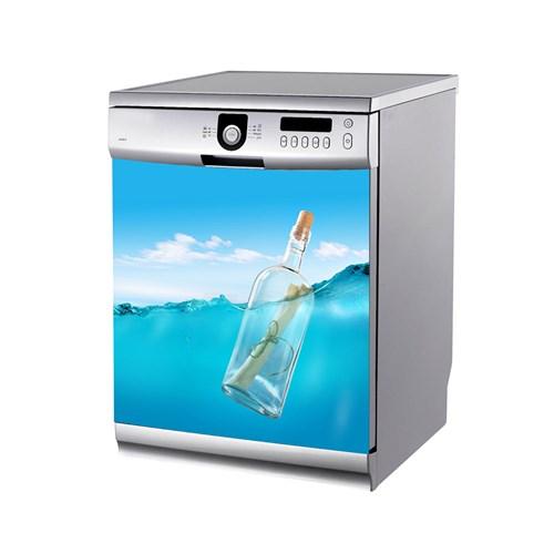 Artikel Denizde Şişe Bulaşık Makinası Stickerı Bs-161