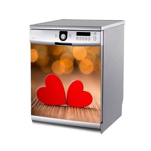 Artikel Iki Kalp Bulaşık Makinası Stickerı Bs-171
