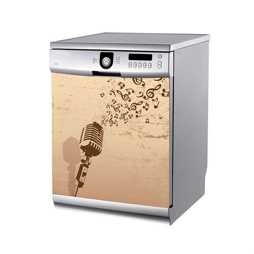 Artikel Mikrofon Bulaşık Makinası Stickerı Bs-176