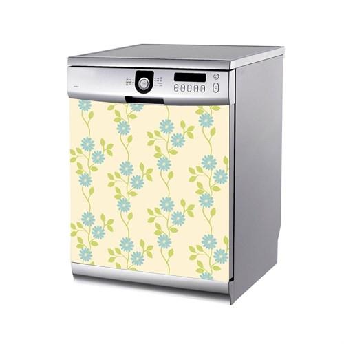 Artikel Çiçek Desenleri-2 Bulaşık Makinası Stickerı Bs-179