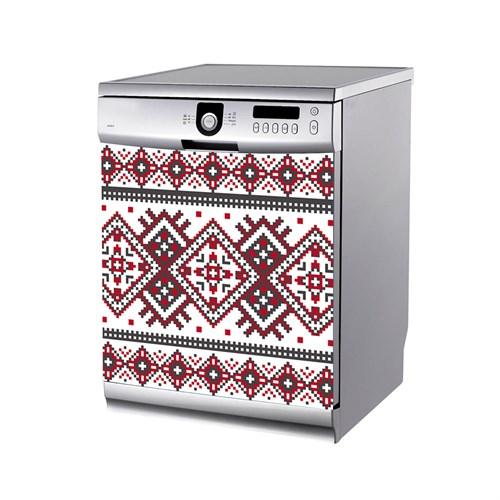 Artikel Tığ Deseni Bulaşık Makinası Stickerı Bs-182
