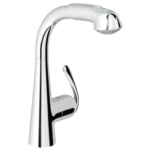 Grohe Zedra El Duşlu Mutfak Eviye Bataryası