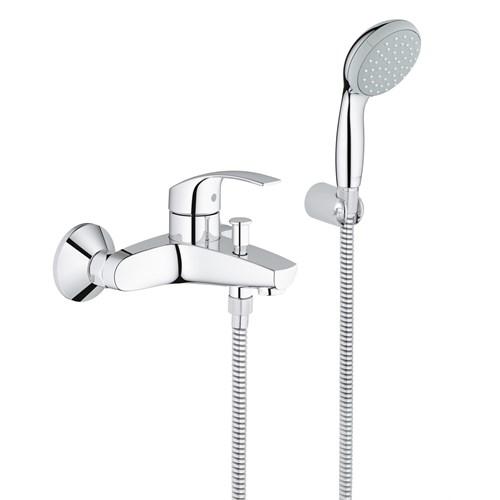 "Grohe Eurosmart Tek Kumandalı Banyo Bataryası 1/2"" 33302002"