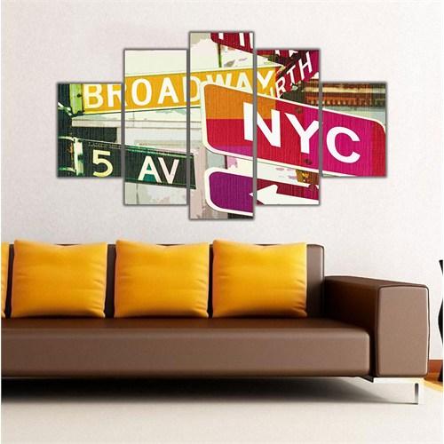 Ritmo Canvas Şehir Simgeleri Canvas Tablo
