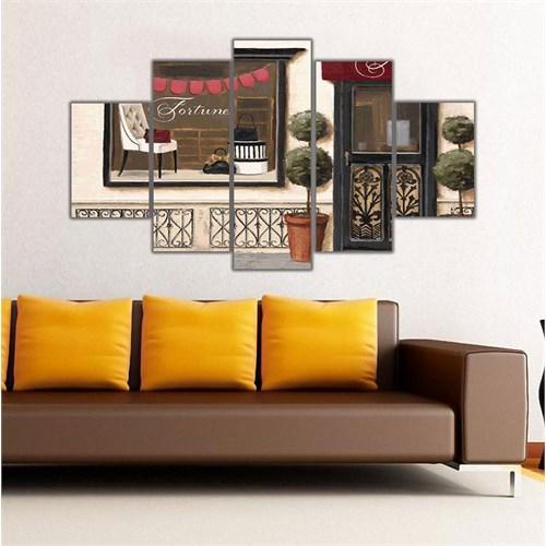 Ritmo Canvas Vintage Cafe Canvas Tablo
