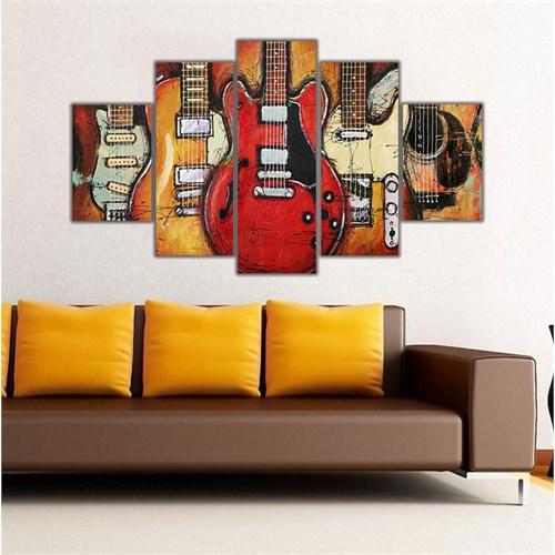 Ritmo Canvas Gitarlar Canvas Tablo