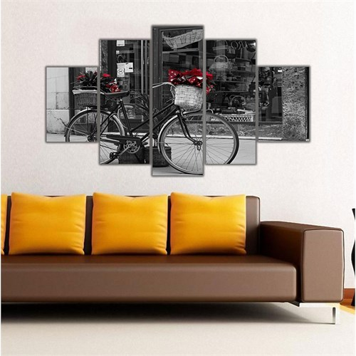 Ritmo Canvas Bisiklet Ve Nostalji Canvas Tablo