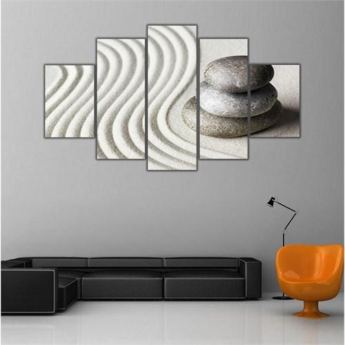 Ritmo Canvas Çakıl Taşları Canvas Tablo