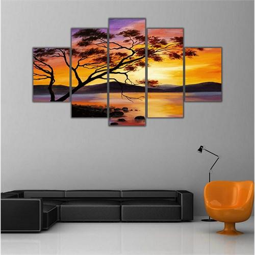 Ritmo Canvas Manzara Canvas Tablo